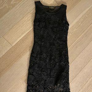 Fendi maxi lace dress